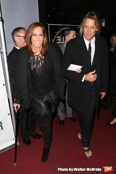 Donna Karan and Russell James