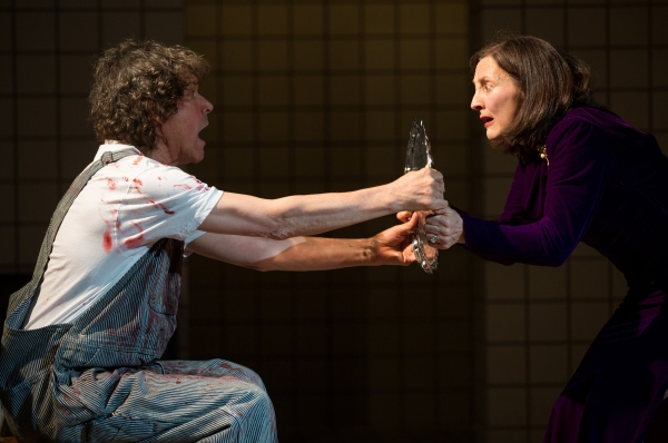Photo Flash: First Look at Stephen Rea, Brid Brennan and More in Signature Theatre's A PARTICLE OF DREAD (OEDIPUS VARIATIONS)