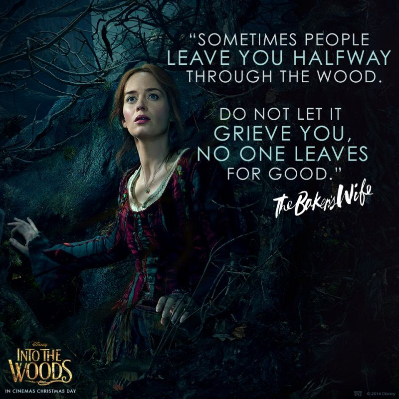 Blunt In New INTO THE WOODS 'No One Is Alone' Themed Social Media ...