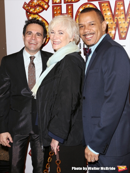 Mario Cantone, Betty Buckley and Jerry Dixon