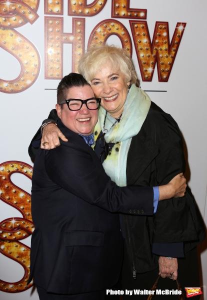 Lea DeLaria and Betty Buckley