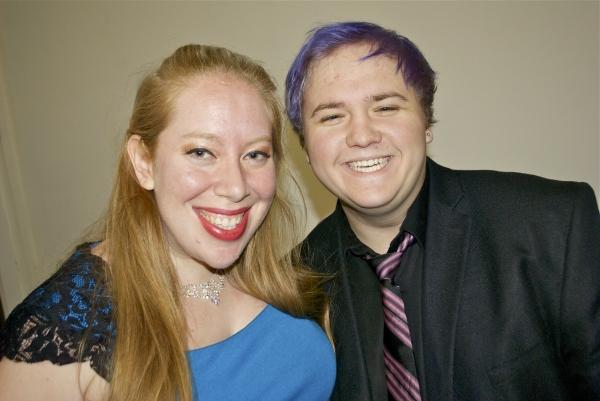 Jennifer Ashley Tepper and Alexander Sage Oyen