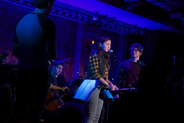 Corey Mach, Kimiko Glen, and Gerard Canonico