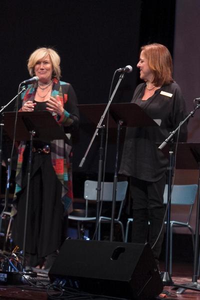 Jayne Atkinson and Patti Mactas