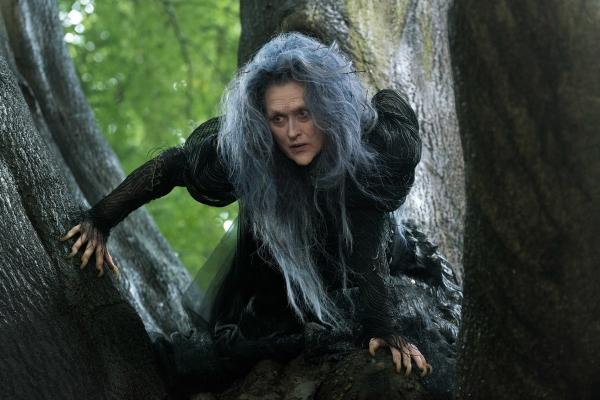 Meryl Streep as The Witch