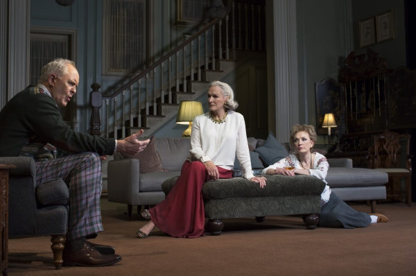John Lithgow, Glenn Close and Lindsay Duncan