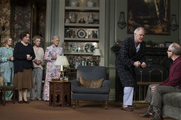 Martha Plimpton, Clare Higgins, Lindsay Duncan, Glenn Close, John Lithgow and Bob Balaban