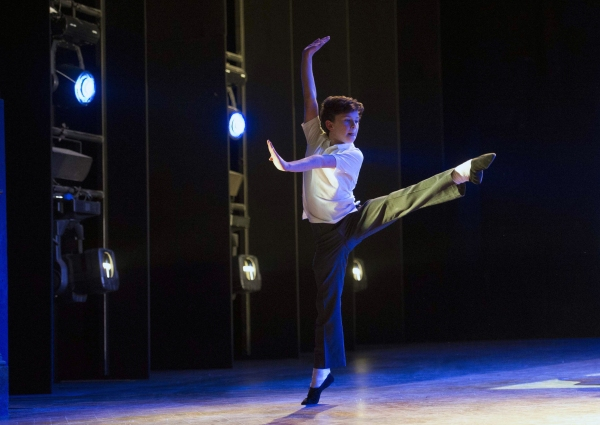 Photo Flash: First Look at Brodie Donougher in UK's BILLY ELLIOT