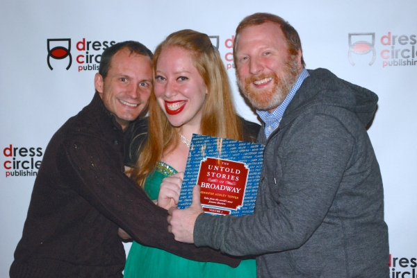 Photo Flash: Jennifer Ashley Tepper and Friends Celebrate Release of UNTOLD STORIES OF BROADWAY, VOLUME 2 at Sardi's