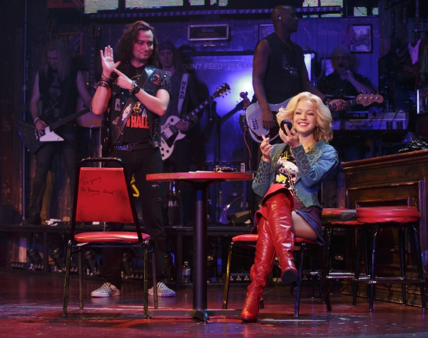 Photo Flash: First Look at Chester See, Frankie Grande & Lauren Zakrin in Broadway's ROCK OF AGES