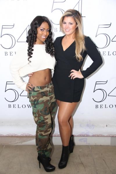Tashiana Washington and Isabelle.
