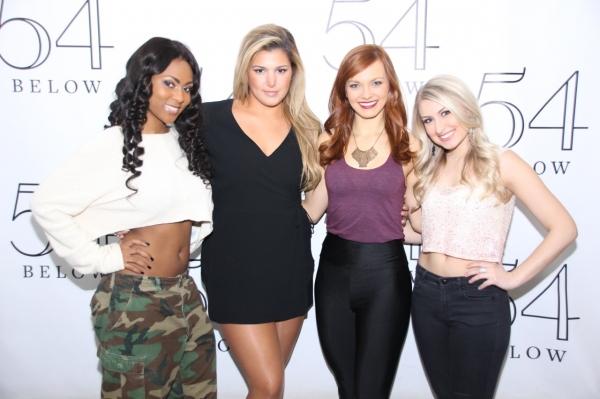 Tashiana Washington, Isabelle, Jen Noble, and Aashley Morgan. Photo