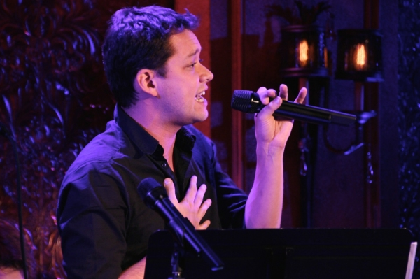 Robert Hager sings Britney Spears'' ''Sometimes,'' as arranged by Joey Contreras. Photo