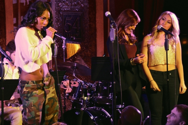 Tashiana Washington sings Beyonce''s ''Crazy In Love'' with Jen Noble and Aashley Mor Photo