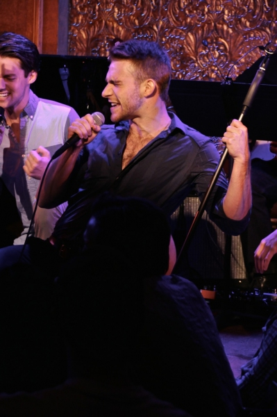 Chris Dwan and Mack Shirilla sing *NSync''s ''Tearin'' Up My Heart.''