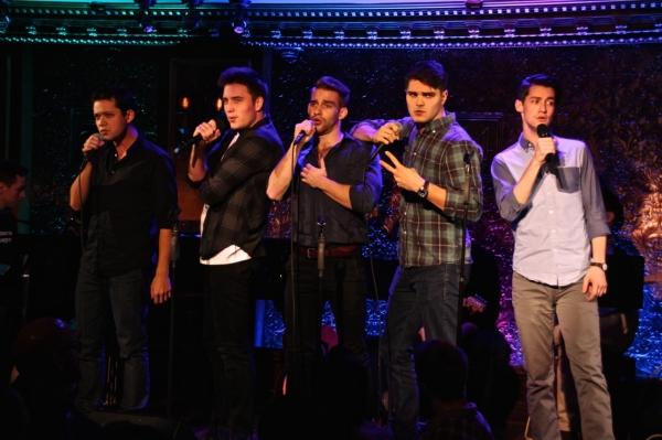 Robert Hager, Chris Dwan, Austin Colby, Josh Tolle, and Mack Shirilla sing *NSync''s  Photo