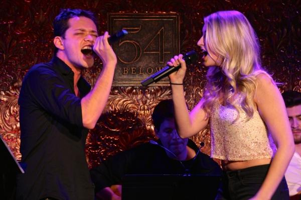 Robert Hager and Aashley Morgan sing Ricky Martin and Christina Aguilera''s ''Nobody  Photo