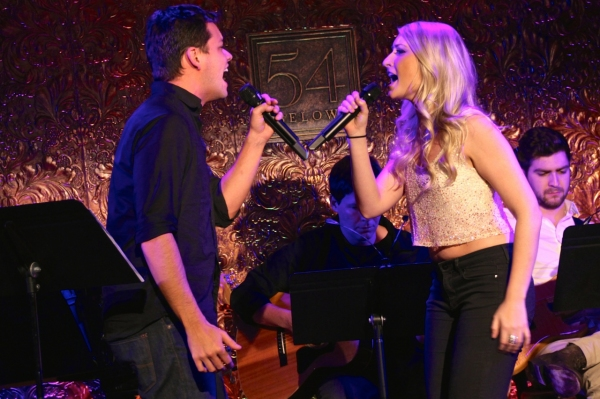 Robert Hager and Aashley Morgan sing Ricky Martin and Christina Aguilera''s ''Nobody Wants To Be Lonely.''