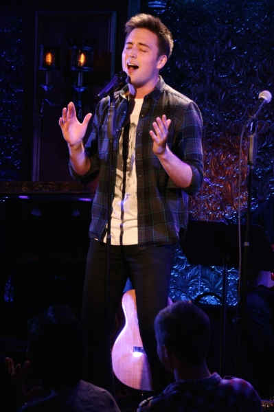 Josh Tolle sings Christina Aguilera''s ''Fighter.'' Photo