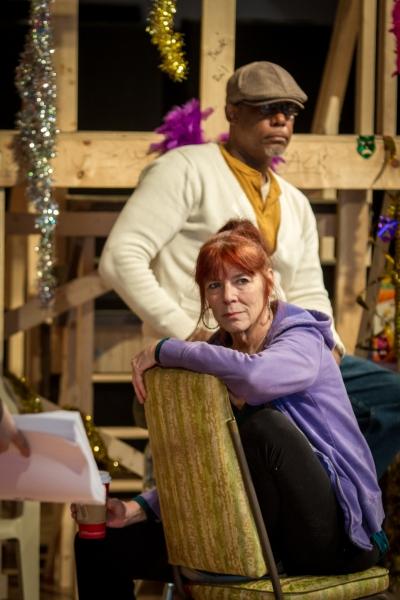 Kate Buddeke and Tim Edward Rhoze  Photo