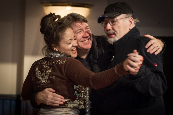 Toni Martin, Terry Hamilton and ensemble member Robert Breuler