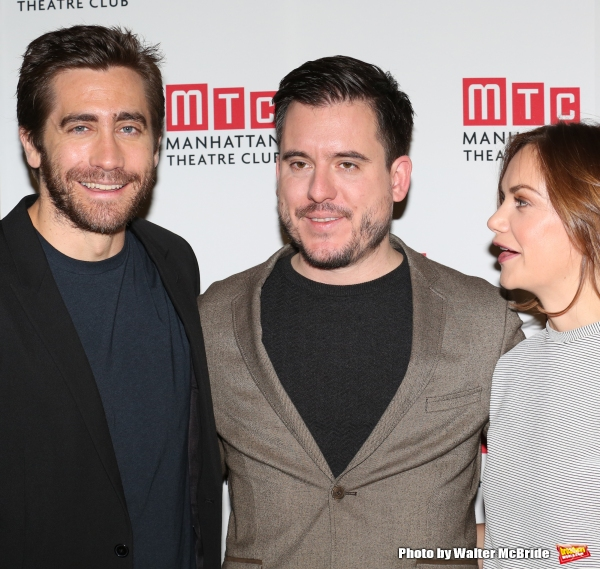 Jake Gyllenhaal, director Michael Longhurst and Ruth Wilson