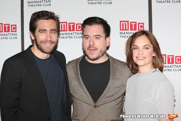 Jake Gyllenhaal director Michael Longhurst and Ruth Wilson