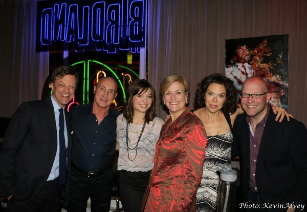 Jim Caruso, Gianni Valenti, Margo Siebert, Karen Mason, Jill Abramovitz and Scott Coulter