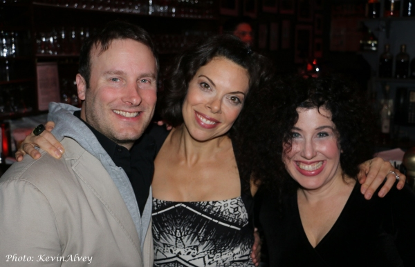 Photo Flash: Clinton Kelly, Margo Siebert, Scott Coulter and More Join Marcy Heisler and Zina Goldrich at Birdland