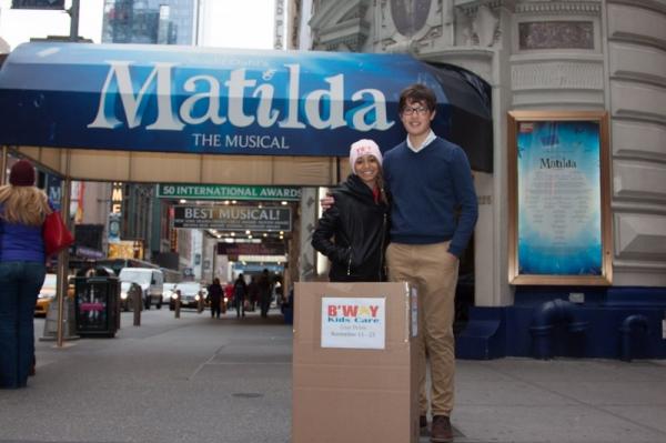 Laurissa Romain and Matthew Ko