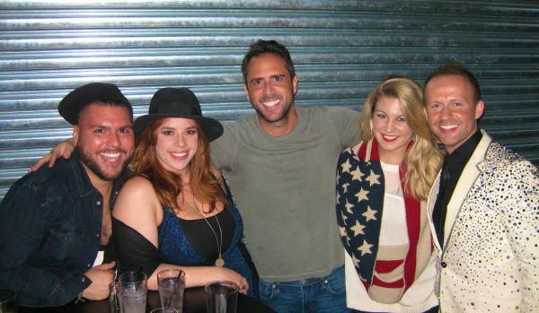 Cesar Rocha, Alysha Umphress, Scott Alan, Mallory Hagan and Marty Thomas