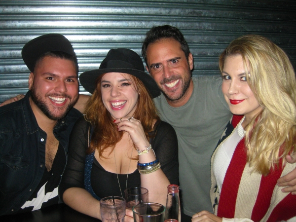 Cesar Rocha, Alysha Umphress, Scott Alan and Mallory Hagan