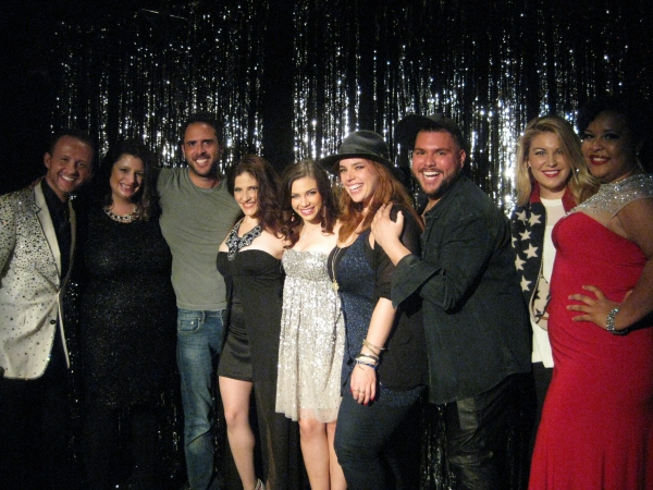 Marty Thomas, Christina Cataldo, Scott Alan, Elissa Goldstein, Sarah Elle Daniels, Al Photo