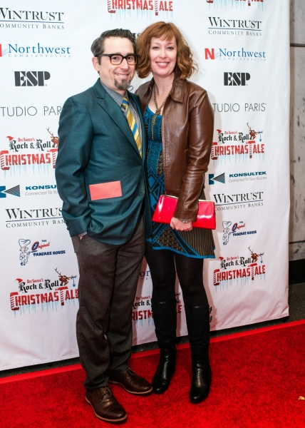 Director Adam John Hunter and his wife, Mylinda Hull