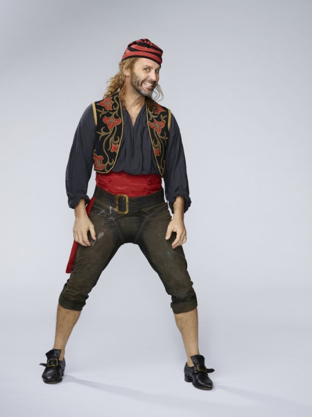 PETER PAN LIVE! -- Season: 2014 -- Pictured: Gary Milner as Pirate -- (Photo by: Patrick Randak/NBC)