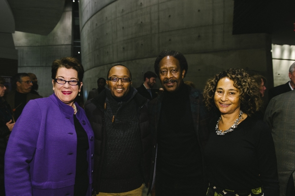 Artistic Director Molly Smith, director Robert O'Hara, book writer Clarke Peters and Penny Peters