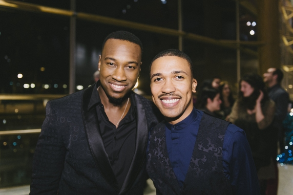 Cast members Sheldon Henry and Clinton Roane