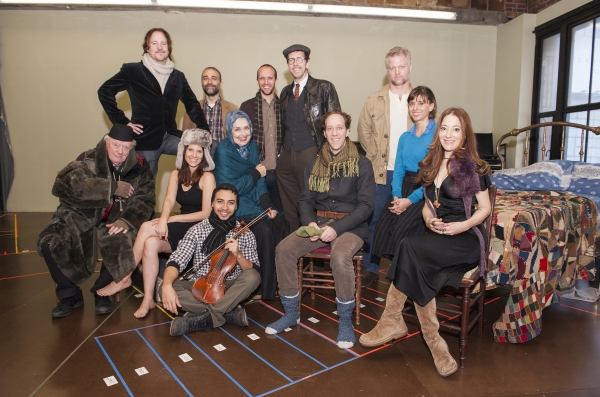 Standing: Patch Darragh, Ben Beckley, Nathan Dame, Robert Stanton, C.J. Wilson; Sitting: Peter Maloney, Mia Barron, Andrew Mayer, Mary Beth Peil, Joey Slotnick, Jeanine Serralles and Clea Lewis.