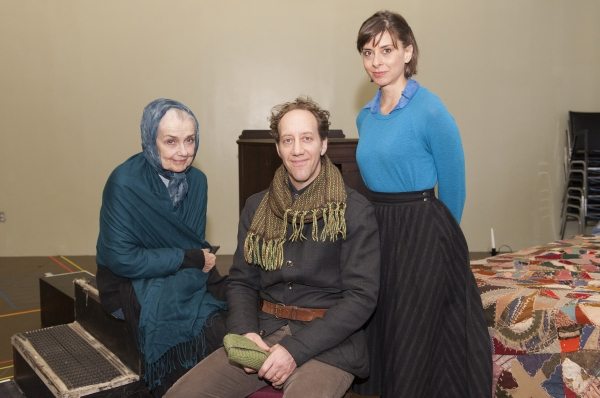 Mary Beth Peil, Joey Slotnick and Jeanine Serralles