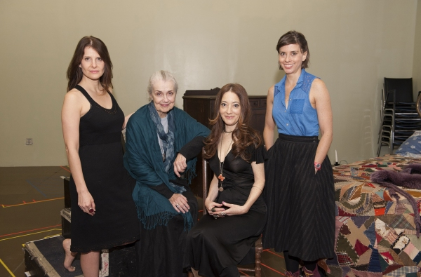Mia Barron, Mary Beth Peil, Clea Lewis and Jeanine Serralles