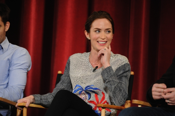 Emily blunt and more into the woods stars participate in live q amp a