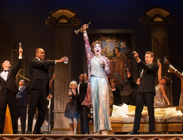 Emily Skinner and the company of MAME