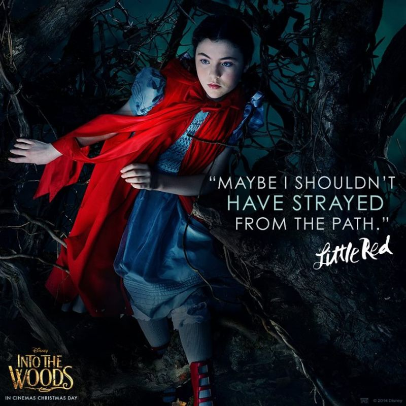 Lilla Crawford On Playing Little Red Riding Hood In Into