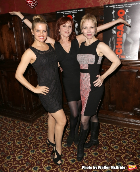 Amy Spanger, Marilu Henner and Charlotte d''Amboise