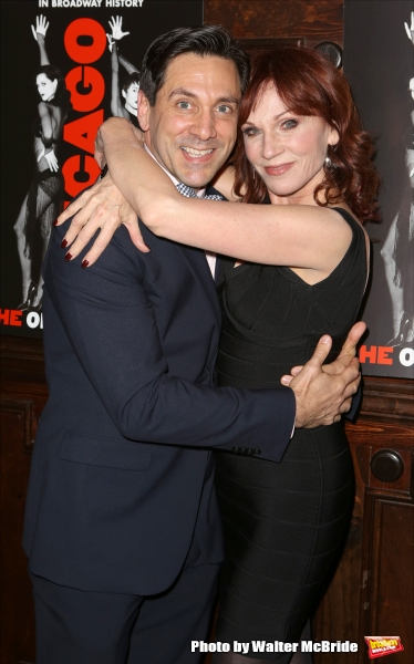 Michael Berresse and Marilu Henner