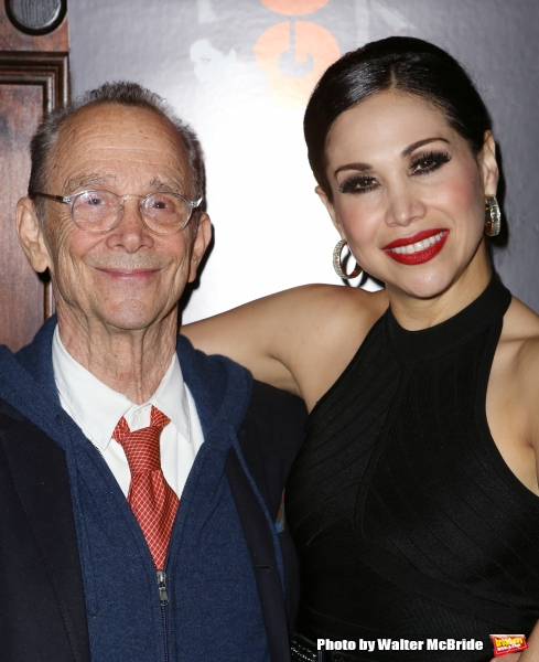 Joel Grey and Bianca Marroquin