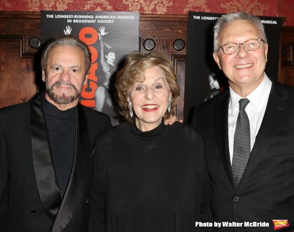 Barry Weissler, Fran Weissler and Walter Bobbie