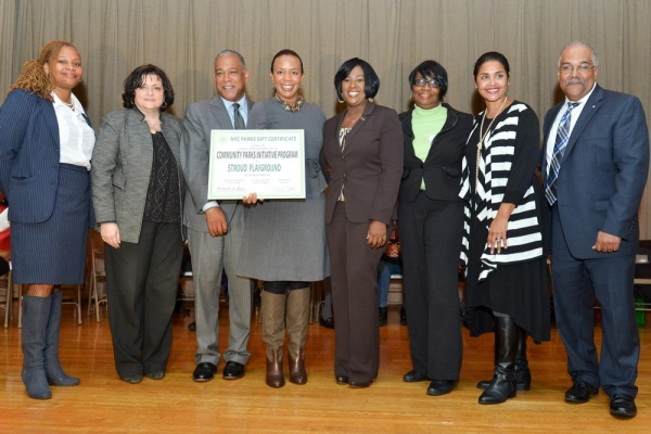 Photo Flash: NYC Parks Hosts Community Parks Initiative Kick-Off in Brooklyn