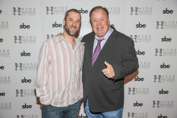 Dustin Diamond and Dennis Haskins