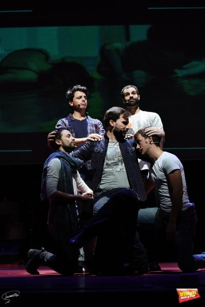 Jaime Zatarain, David Ordinas, Alberto Frias, Gonzalo Alcain y Daniel Busquier
